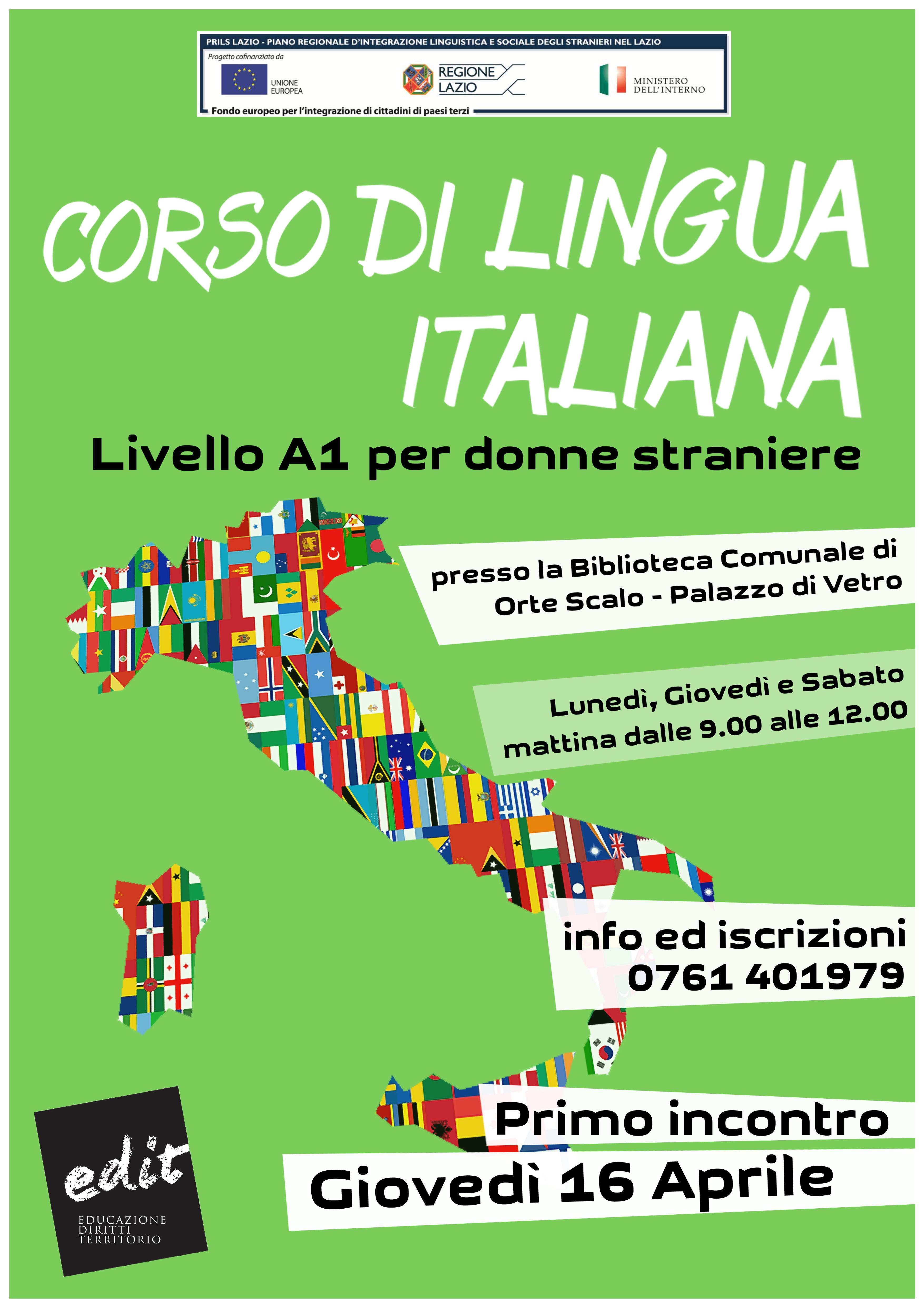 Test A2 Lingua Italiana | EDIT - Educazione, Diritti e Territorio ...
