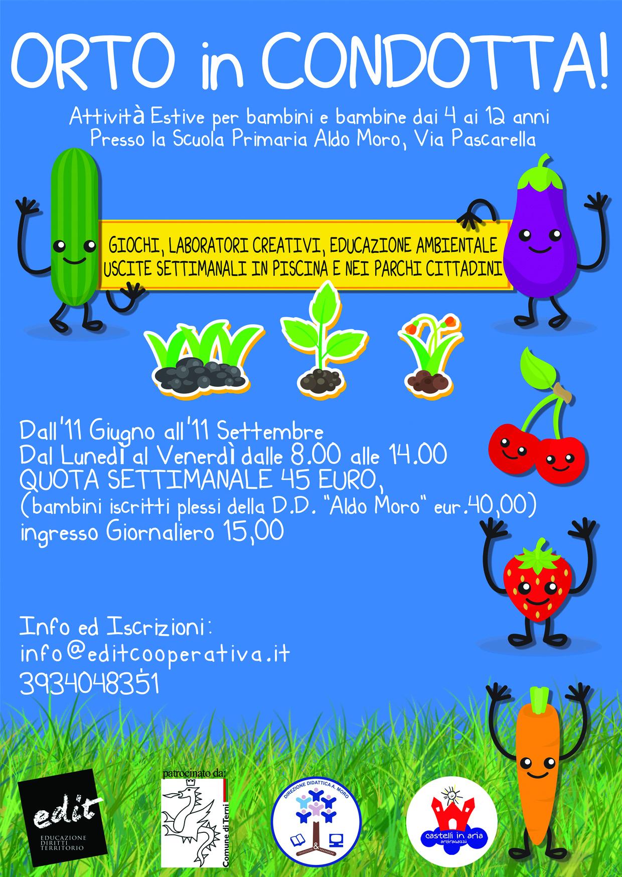 Amato Bambini | EDIT - Educazione, Diritti e Territorio | Società  RA05